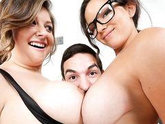 big tits want dick