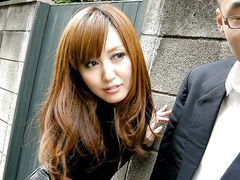 Undercover japanese girl got caught
