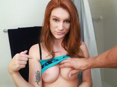 Offering what her dripping wet pussy needs